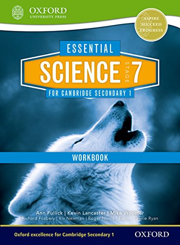 Essential Science for Cambridge Lower Secondary Stage 7 Workbook By Kevin Lancaster