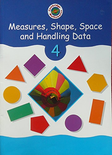 Cambridge Mathematics Direct 4 Measures, Shape, Space and Handling Data Pupil's book By Edited by Jane Crowden