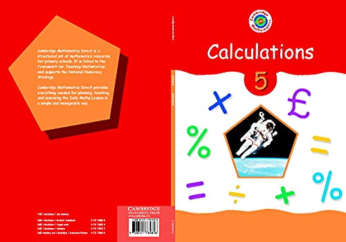 Cambridge Mathematics Direct 5 Calculations Pupil's book By Edited by Jane Crowden