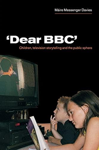 'Dear BBC' By Maire Messenger Davies (Cardiff University)