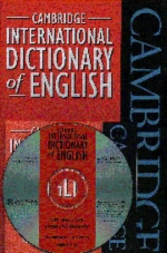 Cambridge International Dictionary of English Flexicover and CD-ROM Pack By Paul Procter