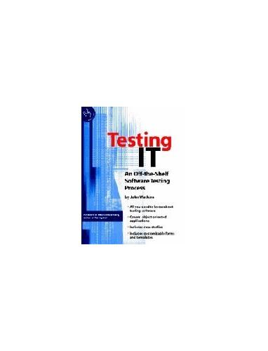 Testing IT By John Watkins