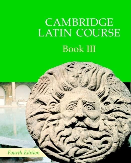 Cambridge Latin Course Book 3 Student's Book von Cambridge School Classics Project
