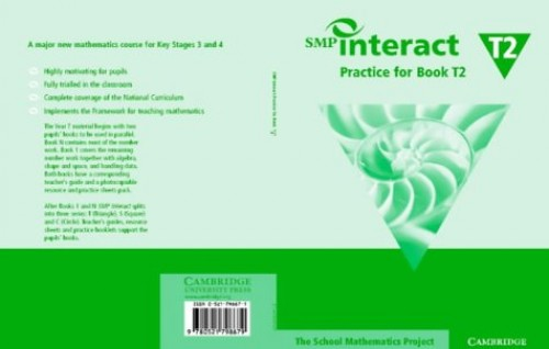 SMP Interact Practice for Book T2 (SMP Interact Key Stage 3) By School Mathematics Project