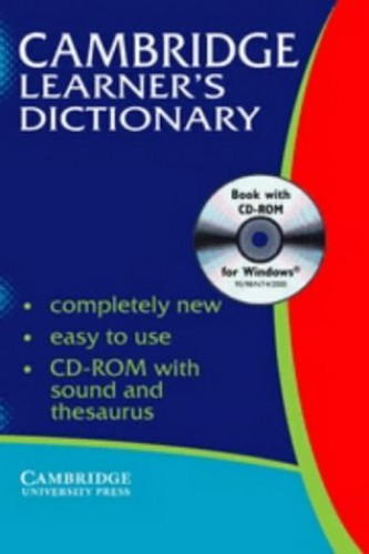Cambridge Learner's Dictionary with CD-ROM By Liz Walter