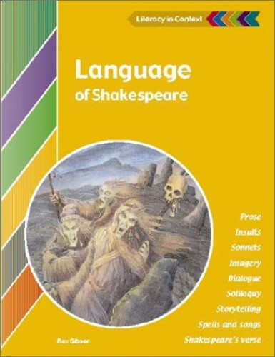 Language of Shakespeare Student's Book By Rex Gibson (Dr)