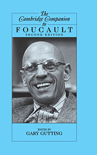 The Cambridge Companion to Foucault By Edited by Gary Gutting (University of Notre Dame, Indiana)