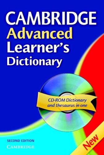 Cambridge Advanced Learner's Dictionary Hardback with CD ROM