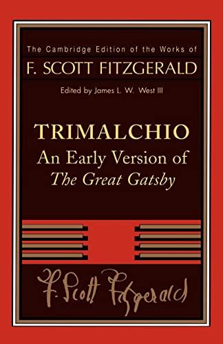 F. Scott Fitzgerald: Trimalchio By F. Scott Fitzgerald