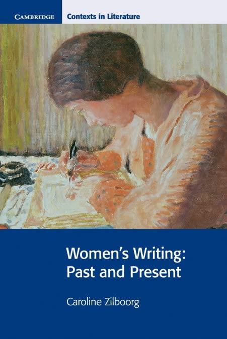 Women's Writing By Caroline Zilboorg