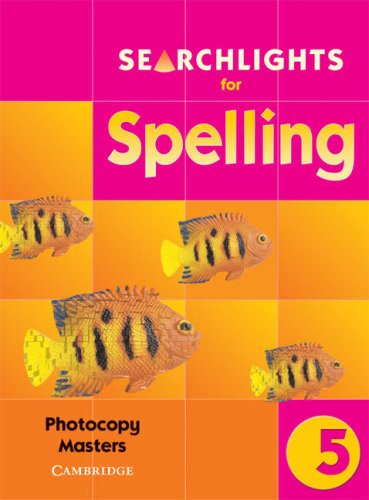 Searchlights for Spelling Year 6 Photocopy Masters