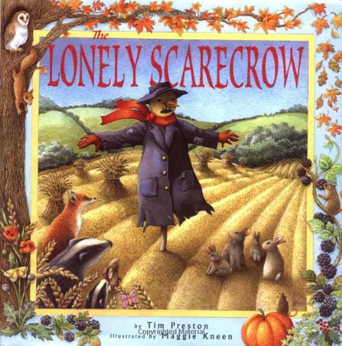 The Lonely Scarecrow By Tim Preston