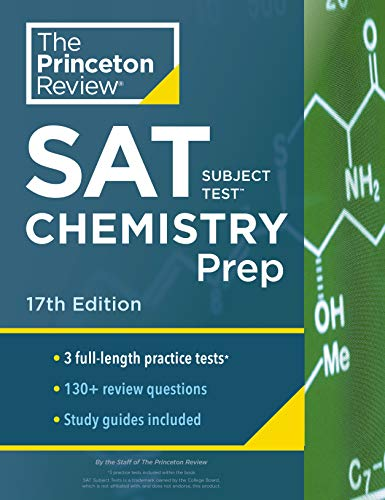 Cracking the SAT Subject Test in Chemistry By Princeton Review