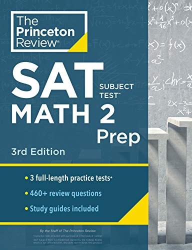 Cracking the SAT Subject Test in Math 2 By Princeton Review