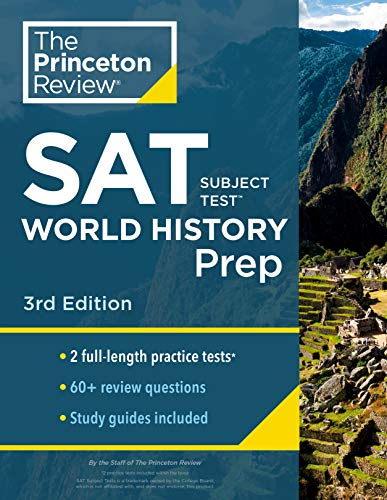 Cracking the SAT Subject Test in World History By Princeton Review