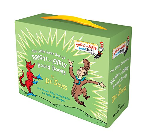 Little Green Box of Bright and Early Board Books von Dr. Seuss
