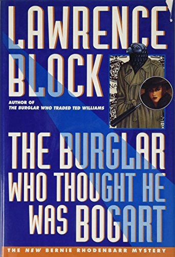 The Burglar Who Thought He Was Bogart Counter Display By Lawrence Block