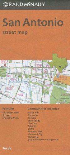 Rand McNally San Antonio, Texas Street Map By Created by Rand McNally