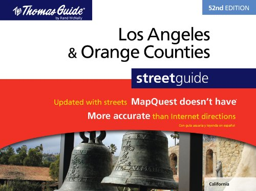 Los Angeles & Orange Counties Street Guide By Rand McNally
