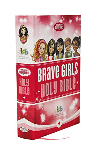 ICB, Tommy Nelson's, Brave Girls Devotional Bible, Hardcover, Pink By Thomas Nelson