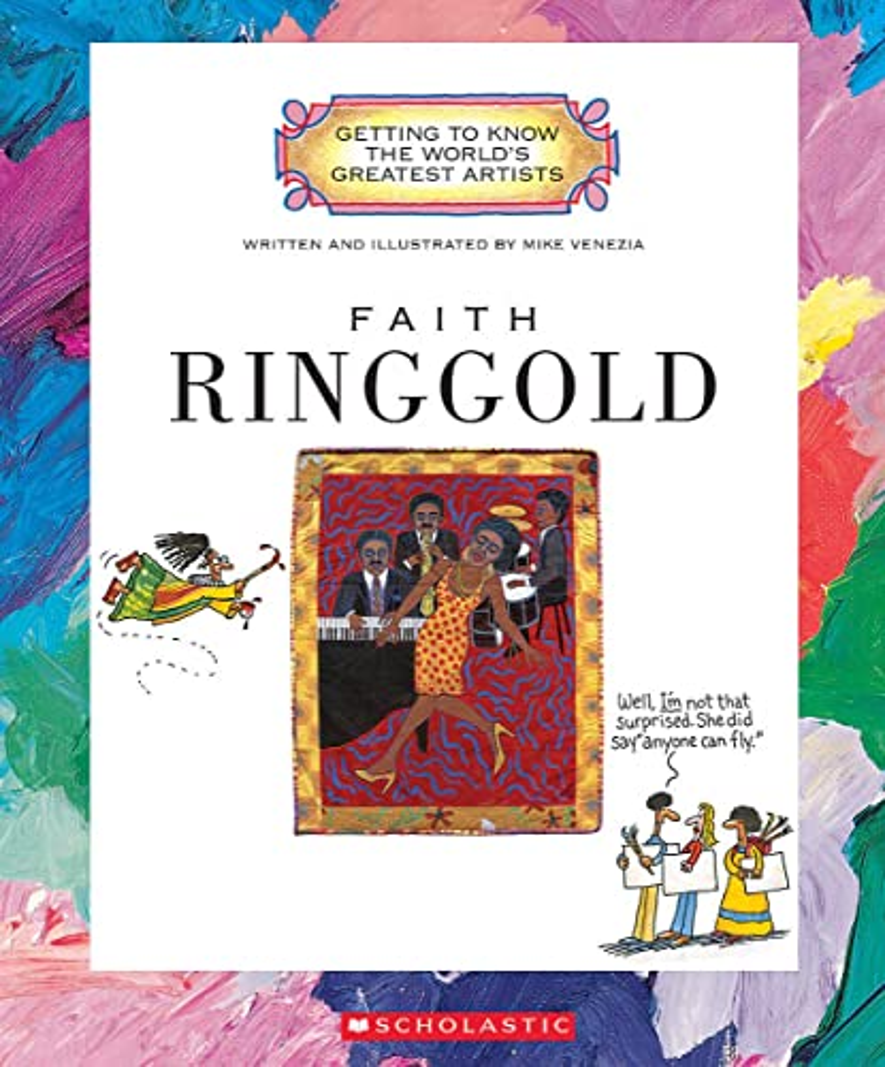 Faith Ringgold By Mike Venezia