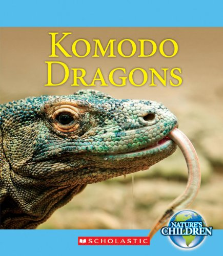 Komodo Dragons By Ruth Bjorklund