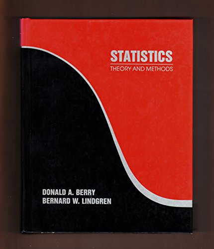 Statistics By Donald A. Berry