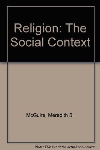 Religion By Meredith B. McGuire