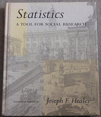 Statistics By Joseph F. Healey