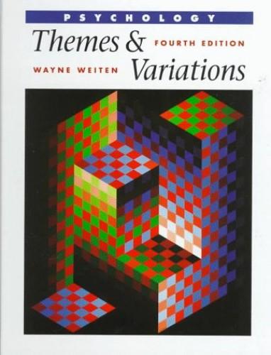 Psychology By Wayne Weiten