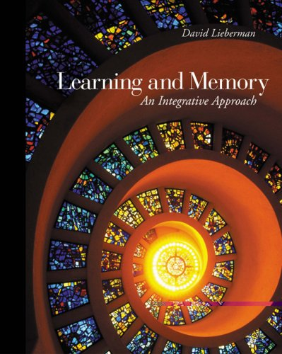 Learning and Memory By David Lieberman
