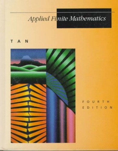 Applied Finite Mathematics By Soo Tan
