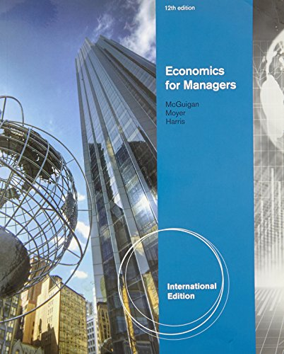 Economics for Managers By R. Moyer