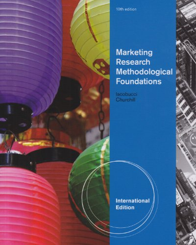 Marketing Research By Dawn Iacobucci