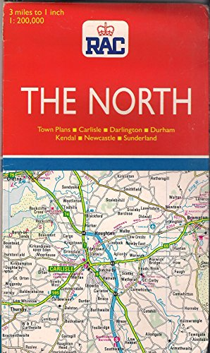 Road Maps of Britain: The North By Royal Automobile Club