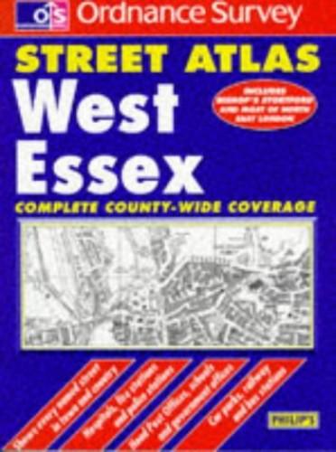 Ordnance Survey West Essex Street Atlas By George Philip & Son