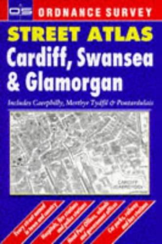 Ordnance Survey Cardiff, Swansea and Glamorgan Street Atlas