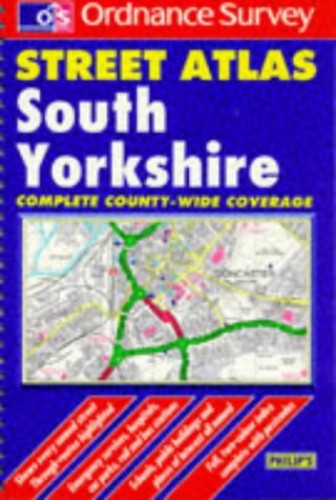 Ordnance Survey South Yorkshire Street Atlas (OS/Philip's Street Atlases)