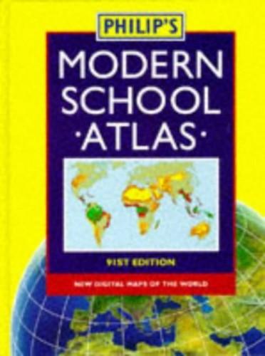 Philip's Mod School Atlas 91St Sht