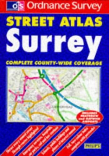 Ordnance Survey Surrey Street Atlas