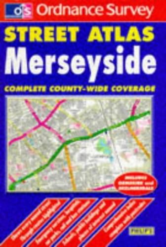 Ordnance Survey Merseyside Street Atlas By Ordnance Survey