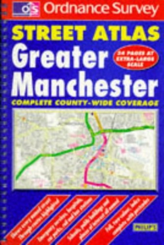 Ordnance Survey Greater Manchester Street Atlas By Ordnance Survey
