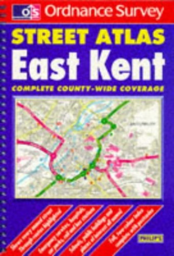 Ordnance Survey East Kent Street Atlas (Ordnance S... by Blewitt, Mary Paperback