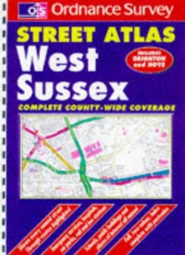 Ordnance Survey West Sussex Street Atlas