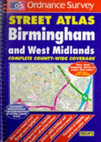 Ordnance Survey Birmingham and West Midlands Street Atlas
