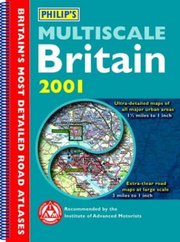 Philip's Multiscale Britain: 2001 by Philips
