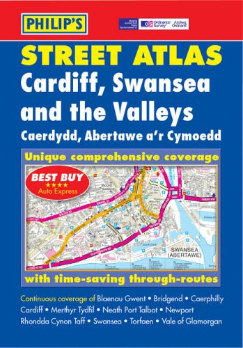 Cardiff, Swansea and the Valleys Street Atlas by Unknown Author