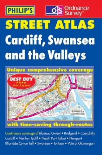 Cardiff, Swansea and the Valleys Street Atlas