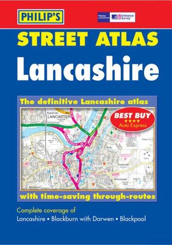 Ordnance Survey/Philip's Street Atlas Lancashire