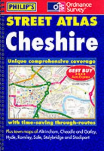 Street Atlas Cheshire By George Philip & Son